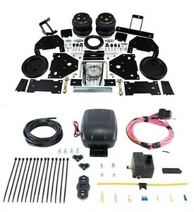 Air Lift Control Air Spring Single Air Compressor Kit For F 450 350 Super Duty