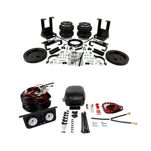 Air Lift Control Air Spring Dual Path Leveling Kit For Dodge Ram 3500 2500 4wd