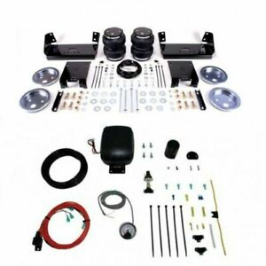 Air Lift Suspension Air Bag Single Path Air Compressor Kit For Ford Pickup F53