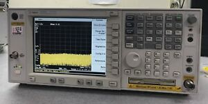 Agilent E4443a Psa Series Spectrum Analyzer 3 Hz 6 7 Ghz