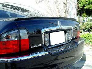Usa Painted Trunk Lip Spoiler 00 06 Lincoln Ls Black Ua New Free Ship