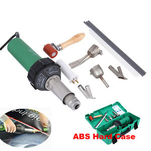 1600w Hot Air Torch Plastic Welding Gun Welder Pistol Industrial Tool 40 600 c