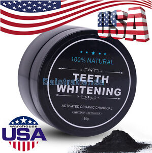 Dental Teeth Whitening Powder 100 Natural Activated Organic Charcoal Toothpaste