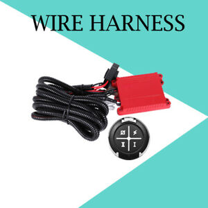 Led Light Bar 40a 12v Remote Control Switch Freely Wiring Harness Kit Dual Color