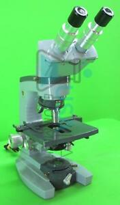 American Optical 1036a Microscope With 10x 45x 100x Objectives