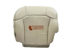 1999 2002 Cadillac Escalade Driver Bottom Perforated Leather Seat Cover Shale
