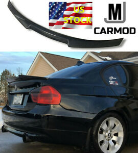 Fit For Bmw E90 3 Series 335i 328i Or M3 Sedan Carbon Fiber Rear Spoiler M4 Type