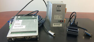 Linmot Model E1100 gp hc Servo Drive W power Supply Break Out Board And Cable