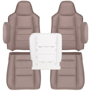 2002 2004 Ford Excursion Limited Or Xlt Factory Match Seat Cover tan Leather