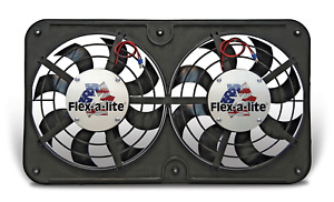 Flex a lite 412 Universal Low Profile Dual 12 1 8 Electric Fan W controller