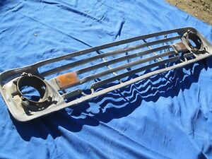 1963 Ford F 100 Pickup With Factory Snow Plow Grille Oem