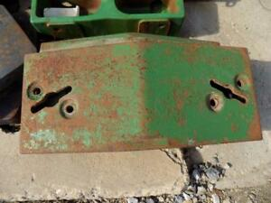 John Deere Front Slab Weight For 2510 3020 4020 4520 Tractors Others Jd Sw