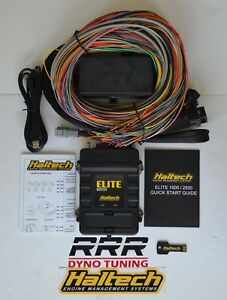 Haltech Elite 1500 Ecu Universal Premium 8 Ft Wiring Harness Kit 3 Bar Map