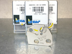 3 Iscar Gad 3n Cut grip Neutral Parting Tool Blade Adapter For Carbide Insert