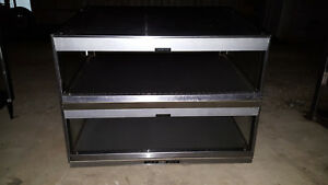 Hatco Grsds 36d Countertop Heated 2 Shelf Food Warmer Merchandiser Glo ray Case