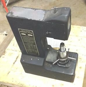 Service Diamond Rockwell Hardness Tester Machine Many Extras Stand Test Blocks