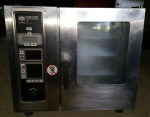 Henny Penny Sure Chef Combi Steamer Lcs Climaplus Cook Convection Oven Electric