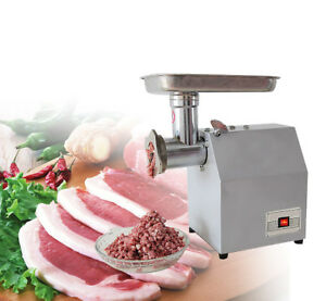 850w Electric Meat Grinder Home Commercial Stainless Steel 220v 110v Kitchen New