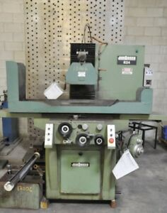 1978 Jakobsen 824 4 394 8 X 24 3 Axis Hydraulic Surface Grinder
