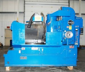 1981 Blanchard 22 42 33 Rpm 50 Hp 42 Chuck Rotary Surface Grinder