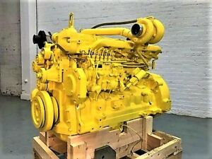 2000 John Deere 6068t Mechanical Diesel Engine 141 Hp Tested Ready To Go