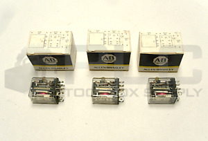 Lot Of 3 New Allen Bradley 700 hf32a1 1 4 Ser a Relay