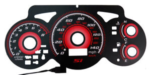 Type R Red Glow Gauge Kit For 02 05 Honda Civic Si Ep3 Instrument Cluster Jdm