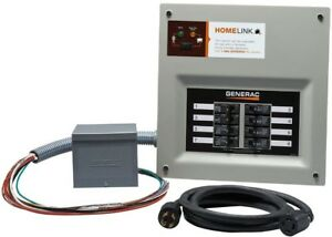 Generac Upgradeable Manual Transfer Switch Kit For 8 Circuits