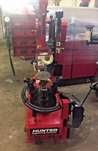 Hunter Butler Tc3500ss Low Profile Rim Clamp Tire Machine Changer 159