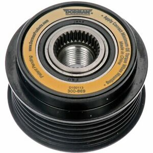 Dorman Alternator Pulley New For Mercury Grand Marquis Ford Crown 300 869