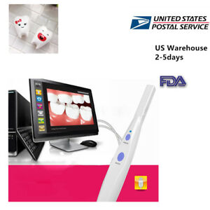 Usa Dentist Dental 5 0 Mp Usb Intraoral Oral Camera Hk790 software Cd Teeth Fda