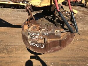 Ohio 34awx Scrap Material Handling Magnet 34 Aluminum Wound Tested And Ready
