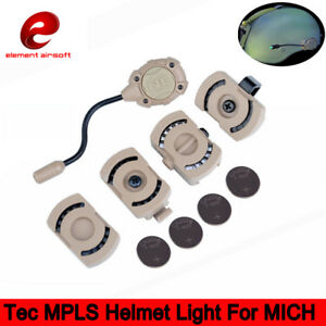 Tec MPLS Helmet Lamp Survival Light Green White Led For MICH Fast Molle ACH ARC $26.09
