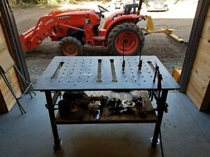 File Only Welding Fixture Chassis Table 3ft X 5ft Dxf File For Plasma Cut