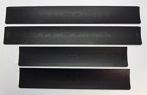 Genuine Tacoma 2018 Double Cab Door Sill Protector Pt74735161 Accessory 4pc Set