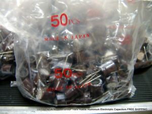 Lot 50 New Nichicon 270uf 100v Radial Electrolytic Capacitors Free Shipping