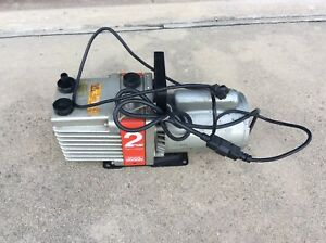 Edwards Two Stage Rotary Vane Vacuum Pump Model 5kc37nn470gx