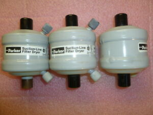 Lot Of 3 New Parker Suction Line Filter Dryer Sld8 5sv For Refrigeration