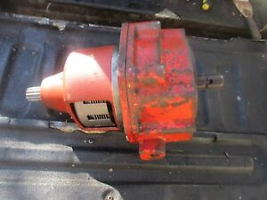 1964 International 504 Utility Gas Tractor 540 Pto Gear Hub Assembly Free Ship
