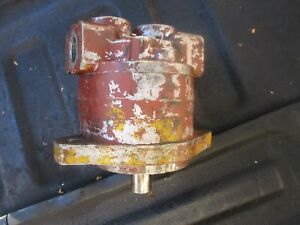 1954 Case 600 Gas Tractor Front Hydraulic Pump Free Shipping