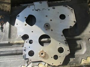 2002 John Deere 6420 R134527 4 5 Power Tech Engine Front Timing Spacer Plate