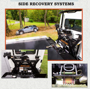 Jerr Dan Side Recovery System Srs 10 10k Winch For Carrier Tow Truck Wrecker