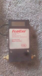 Rare Flocat Nitrogen Gas Mass Flow Meter Range 0 200 Model C aa30 a005