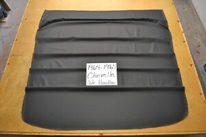 1964 64 1965 65 Chevelle Ss 2 Door Hardtop Black Tier Headliner Usa Made
