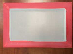 8 X 12 aluminum Screen Printing Screens With 200 Yellow Mesh Count