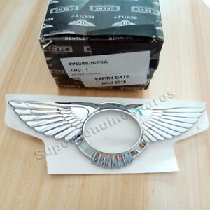 Genuine Bentley Flying Spur Emblem Rear Grille Wing Badge 4w0853689a Brand New