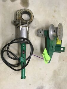 Greenlee 442 Porta puller Wire Cable Tugger 440 Threader Pony Ridgid 700 Maxis