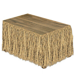 Raffia Table Skirting Pack Of 6