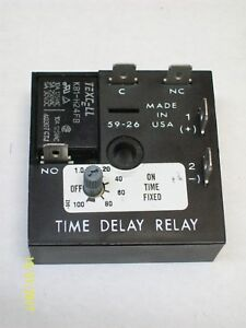 Lincoln Eot Timer Time Delay Relay 4 Sec On 1 100 Minute Off 664 34135 4