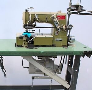 Rimoldi 261 34 Coverstitch Elastic Metering Device Industrial Sewing Machine